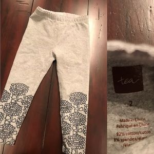 Great Used Condition Tea Collection Leggings